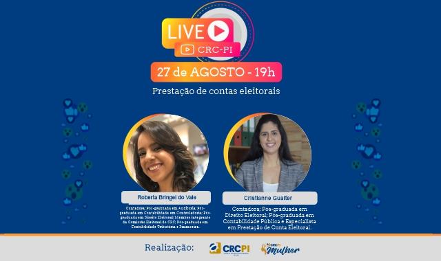LIVE: PRESTAÇÃO DE CONTAS ELEITORAIS