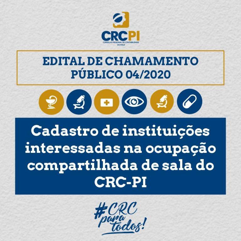 CRC-PI lança edital para seleção e cadastramento de administradora de Planos de Saúde
