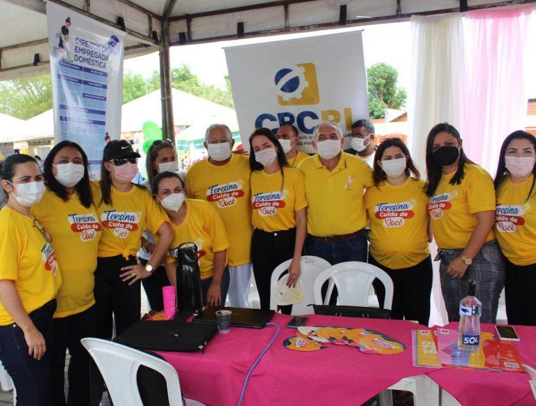 CRC-PI leva prestação de serviços ao público no 'Teresina Cuida de Você'