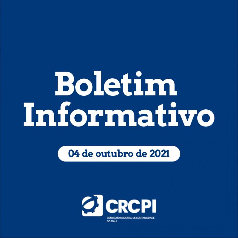 Boletim Informativo CRC-PI